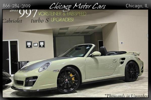 2011 Porsche 911 997 Turbo S