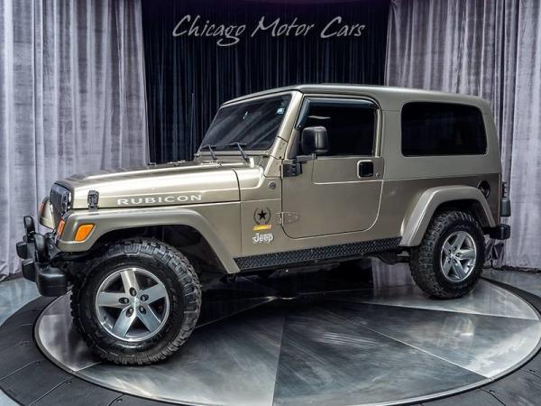 2005 Jeep Wrangler Sahara 0721 Of 1000 Produced Rubicon Inventory