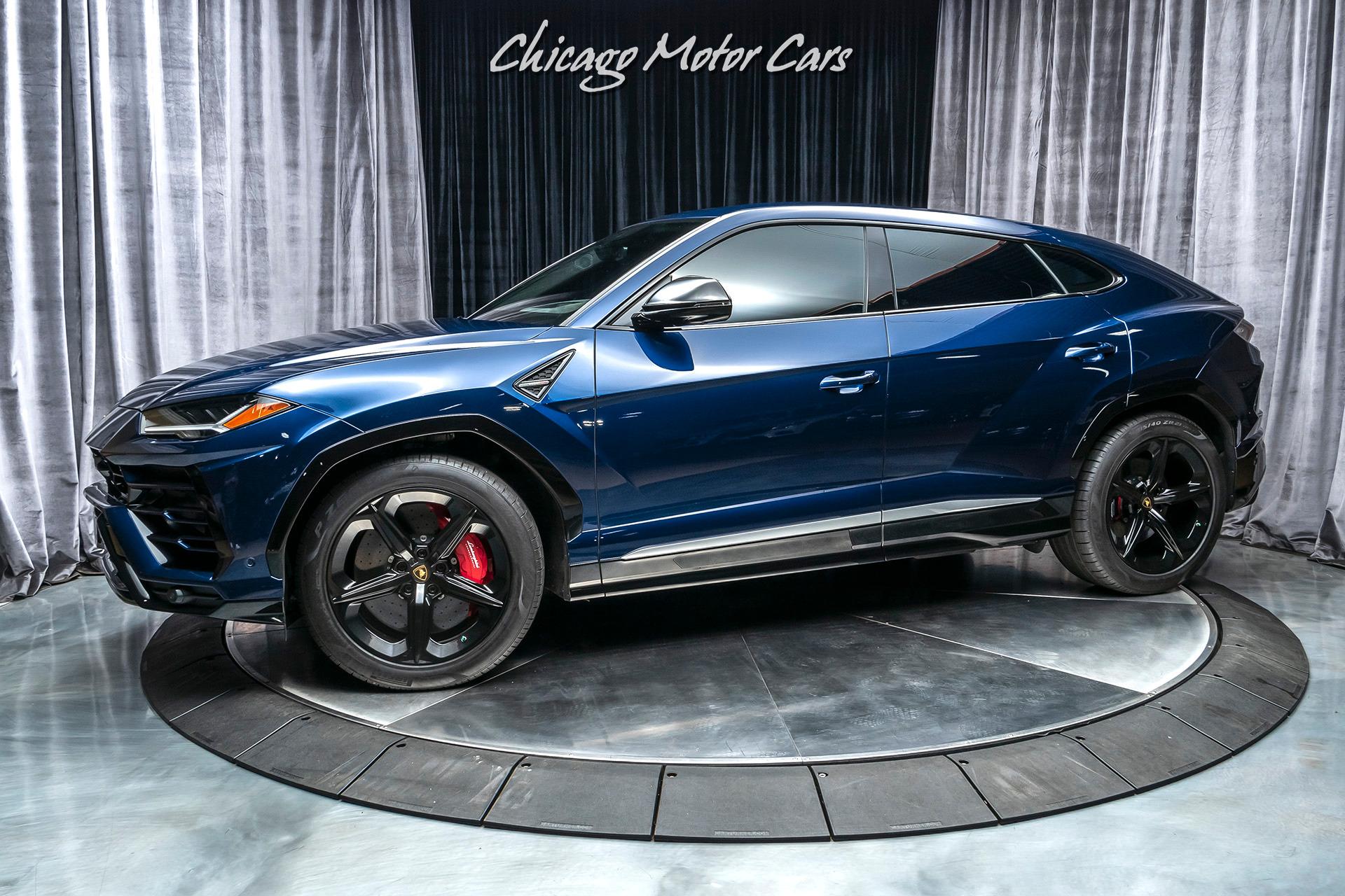 2019 Lamborghini Urus SUV MSRP $241K+ REAR SEAT