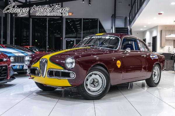 1962 Alfa Romeo Giuliette  Sprint