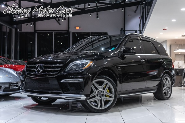 2013 Mercedes-Benz ML63 AMG SUV