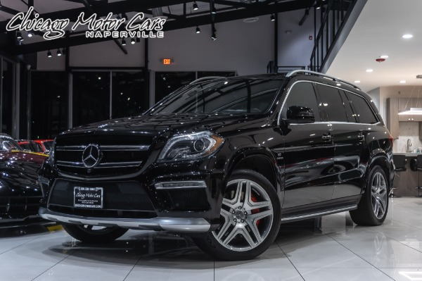 2014 Mercedes-Benz GL63 4MATIC AMG