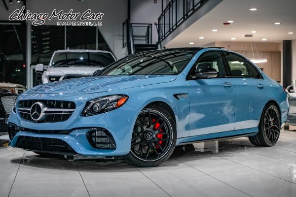 2020 Mercedes-Benz AMG E63 S SEDAN