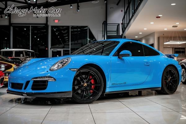 2014 Porsche 911 CARRERA 4S COUPE