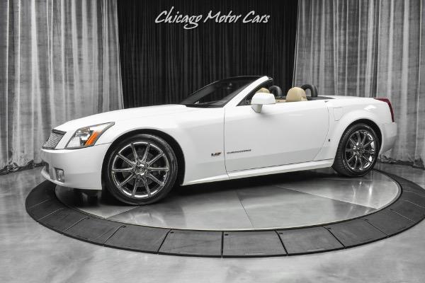 2008 Cadillac XLR-V Alpine White Edition